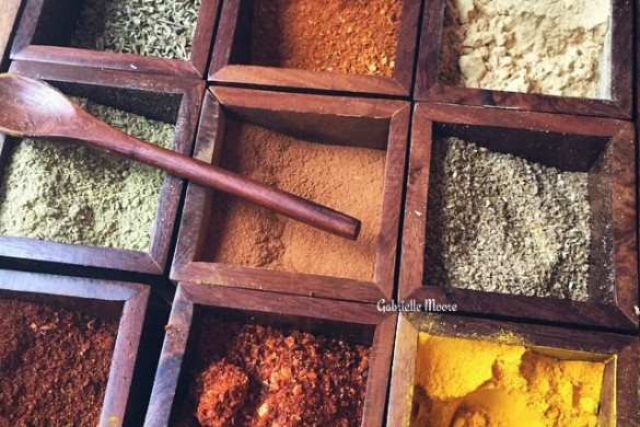 Flavors of the World: A Photo Gallery of #spices