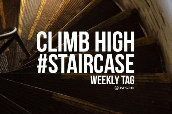 Climb High with the Weekly Tag #staircase