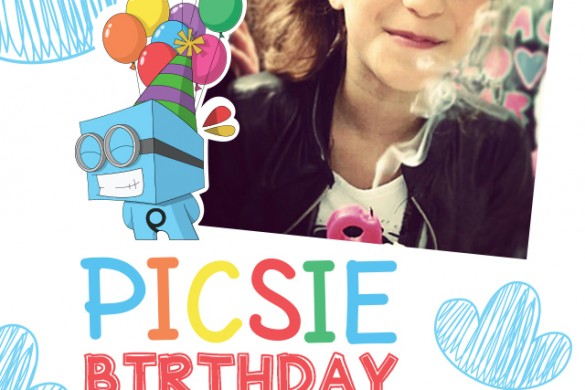 Celebrate with Free Picsie Birthday Frames Package