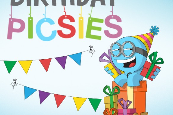 Throw a Picsie Party with the Birthday Picsies Package