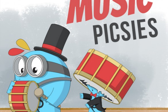 Download the Music Picsies Package from the PicsArt Shop