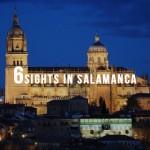 Salamanca Cathedral at night