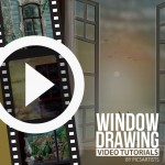 Time-Lapse Drawing Videos of Windows