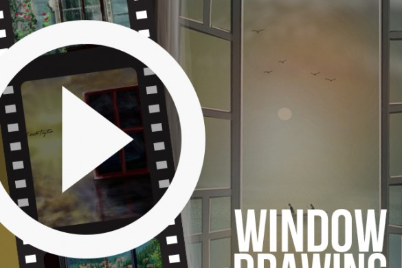 PicsArtists Share Time-Lapse Drawing Videos of Windows