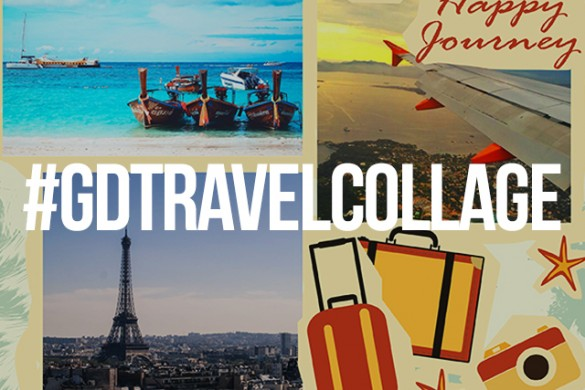 Create a Collage of Your Travels for Our Graphic Design Contest
