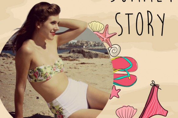 Welcome Summer with the Summer Story Frame Package