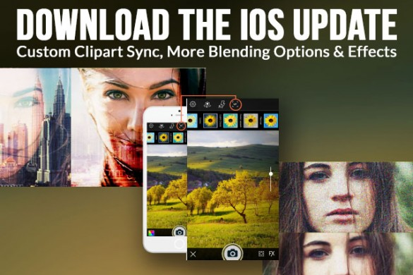 iOS Update: My Clipart Sync, More Blending Options & Effects
