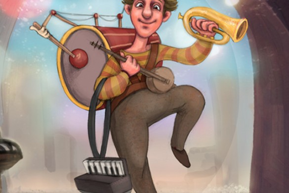 Draw a Street Musician with PicsArt for Our Drawing Challenge