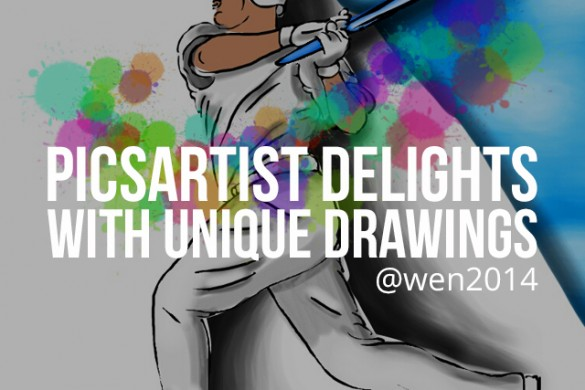 PicsArtist & Mail Carrier Delivers Original & Delightful Submissions to Our Drawing Contests
