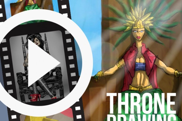 PicsArtists Share Time-Lapse Videos of Throne Drawings