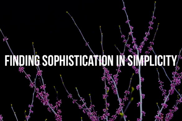 Finding Sophistication in Simplicity
