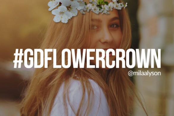 Create a Flower Crown for Our Graphic Design Contest
