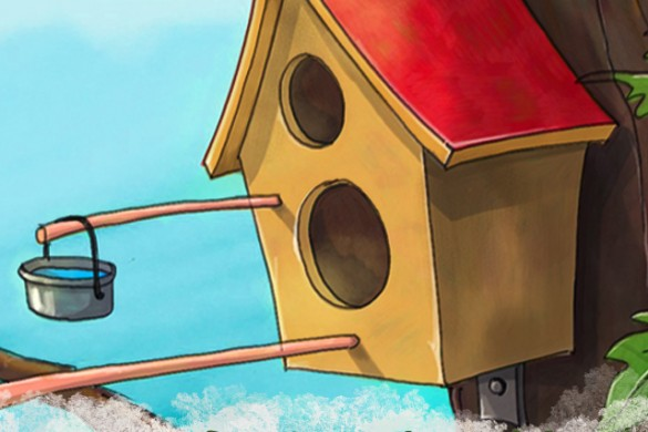 Draw a Birdhouse in This Week's Drawing Challenge