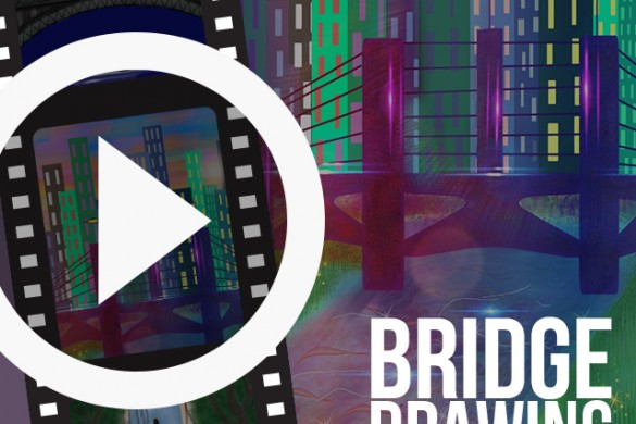PicsArtists Share Time-Lapse Videos of Bridge Drawings