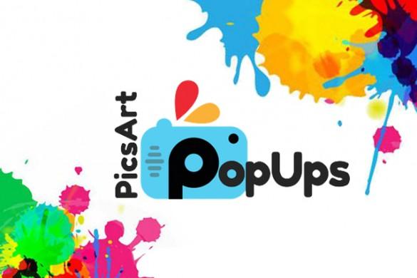 Introducing PicsArt PopUps