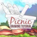 How to Draw a Summer Picnic with PicsArt