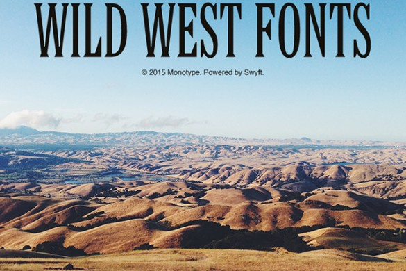 Cowboy Up with the Wild West Fonts Package