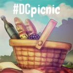 Drawing of a picnic for this weekend drawing challenge