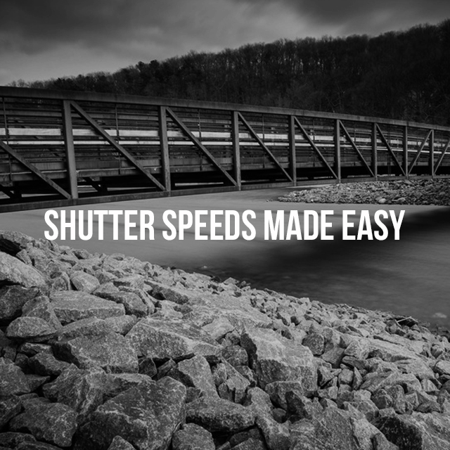 Black and white photo of a bridge edited with shutter speed