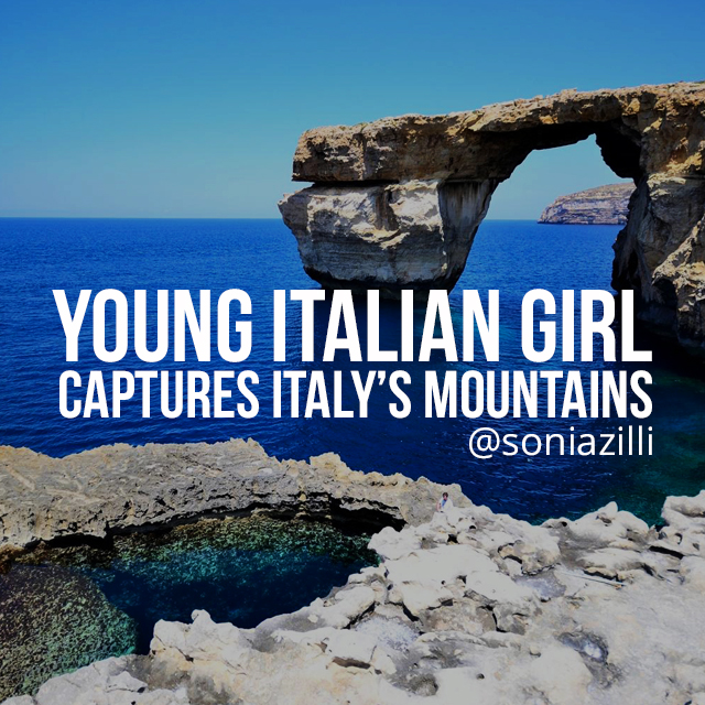 photo of rocks in Italy by Sonia Zilli