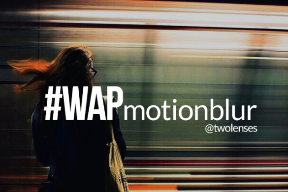 Create Motion Blur for the Weekend Art Project