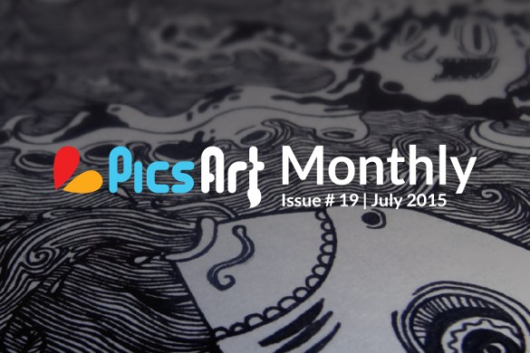 Air Shows, Rock Shows, Tips, & Tutorials; Download the July Issue of the PicsArt Monthly Now!