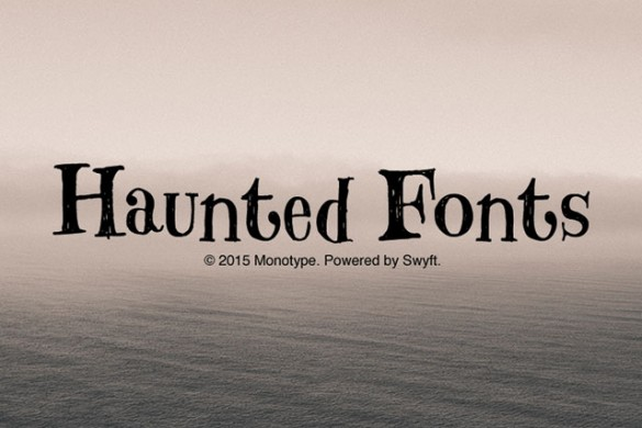 Download the Haunted Fonts Package from the PicsArt Shop