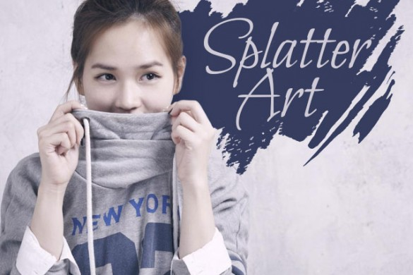 Download the Splatter Art Package from the PicsArt Shop