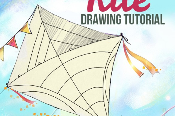 How to Draw a Kite With the PicsArt App
