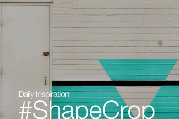 Saturday Inspiration: Go Geometric with #ShapeCrop