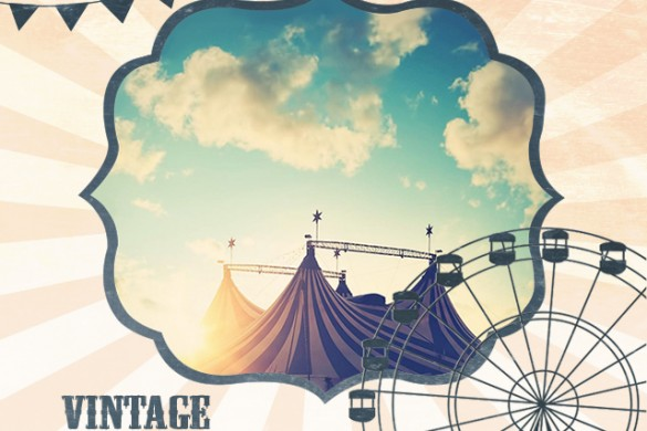 Vintage Circus Frame Package Available in the PicsArt Shop