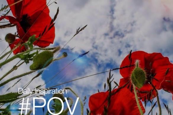 Saturday Inspiration: Share Your Point of View With #POV