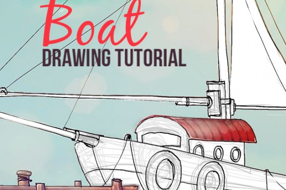 How to Draw a Boat with PicsArt