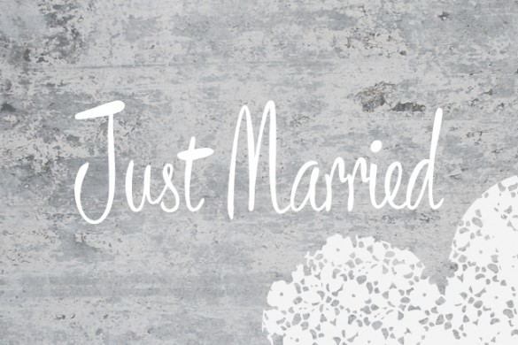 Make Your Wedding Photos Shine with the Just Married Frame Package