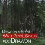 rhino draw on a photo for pencil stylus challenge