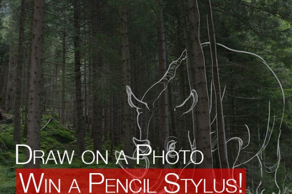 Win a Pencil Stylus in our Draw-On-Photo Contest!