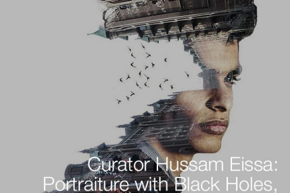 Curator Hussam Eissa: Portraiture with Black Holes, Pink Smoke, & Balloons