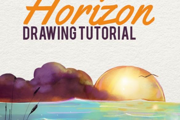 How to Draw a Horizon With PicsArt