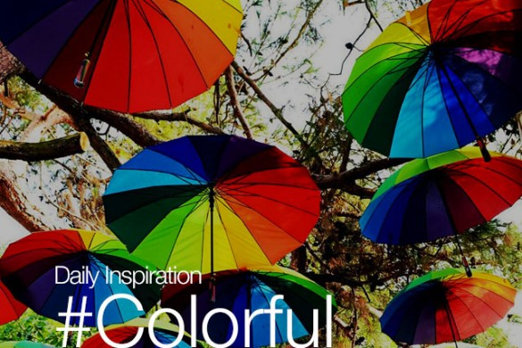 Daily Inspiration: #Colorful