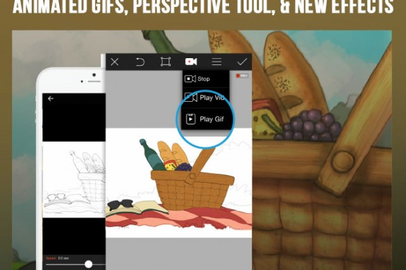 Download the PicsArt Update for iOS: Animated GIFs, Perspective Tool, & New Effects