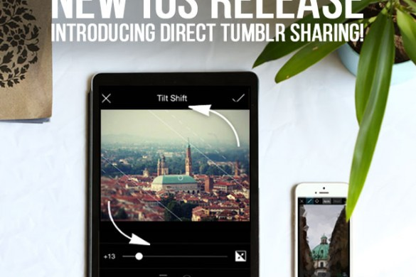 New iOS Release, Introducing Direct Tumblr Sharing!