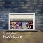 new picsart interface