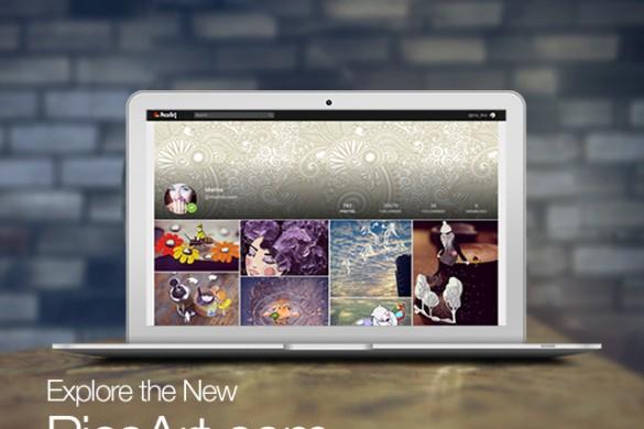 A Redesigned PicsArt.com