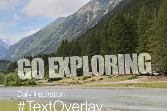 Friday Inspiration: #TextOverlay