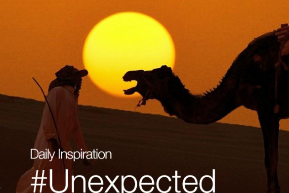 Friday Inspiration: #Unexpected