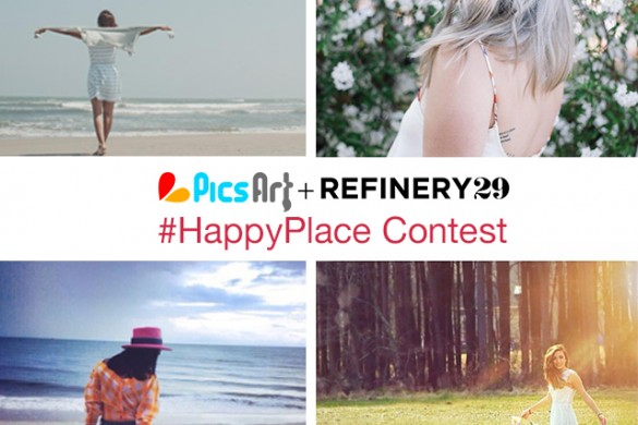Show PicsArt + Refinery29 Your #HappyPlace, Win a Leica Camera