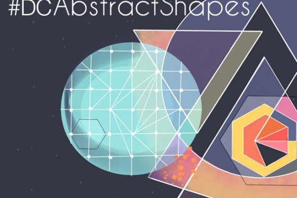Draw Abstract Shapes for This Week's Drawing Challenge