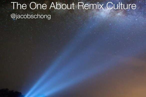 Weekly Community Update: The One About Remix Culture