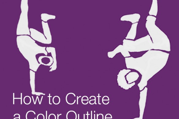 How to Create a Color Outline With PicsArt