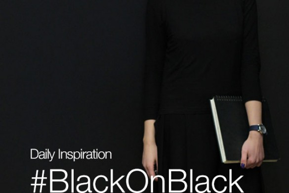 Thursday Inspiration: #BlackOnBlack